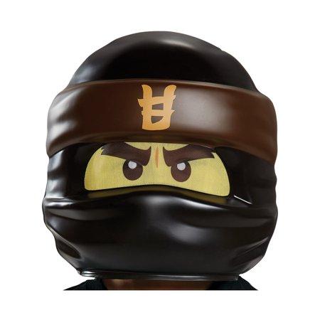 Ninjago Gold Ninja Costume (Child's LEGO® Ninjago Movie Cole Black Ninja Mask Costume)