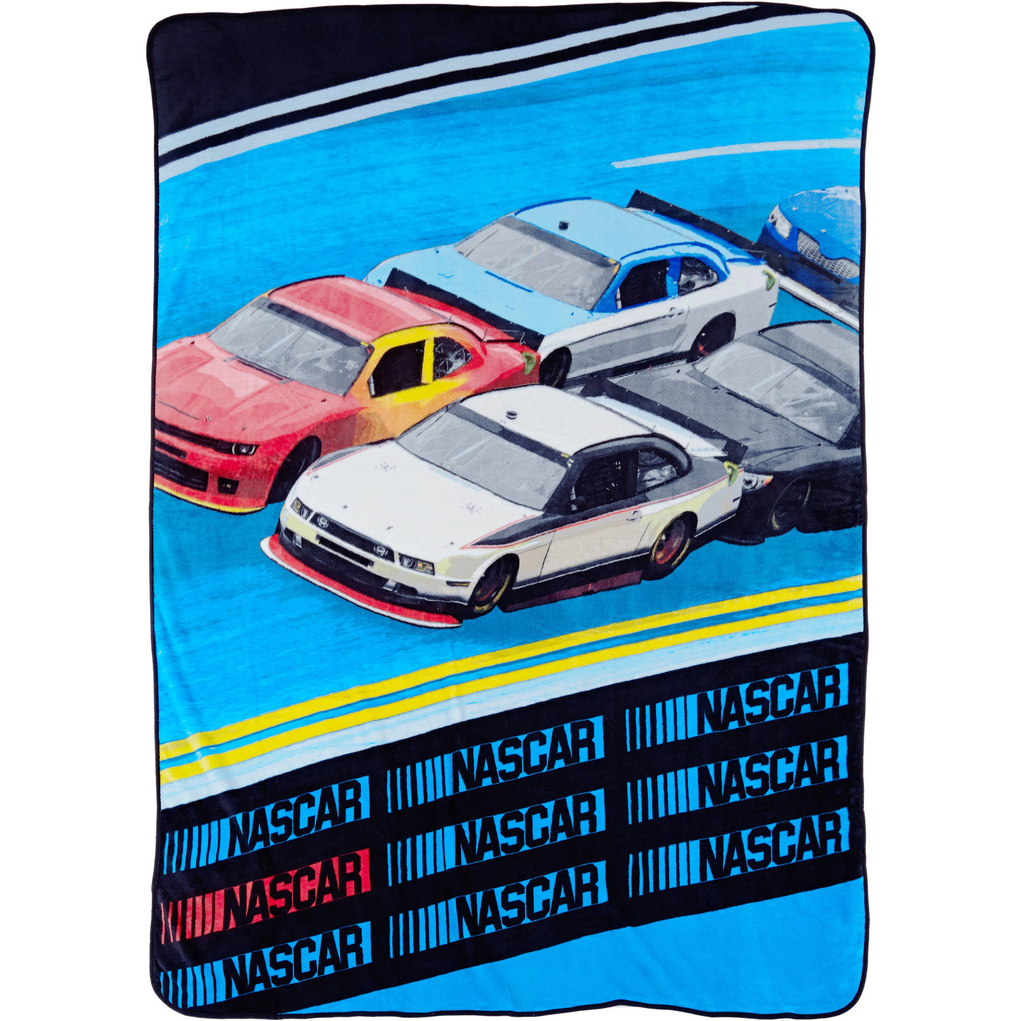 "NASCAR ""Inside Line"" Twin Blanket"