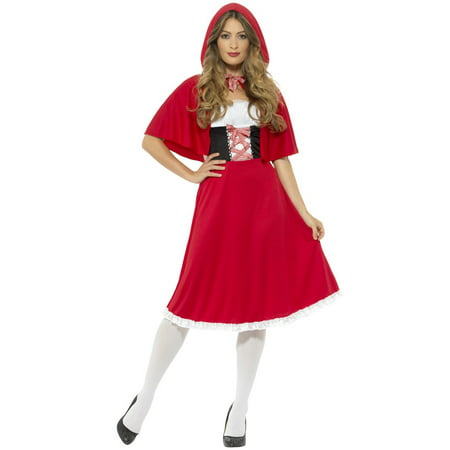 Sweet Red Riding Hood Adult Costume](Red Riding Hood Costume For Girls)