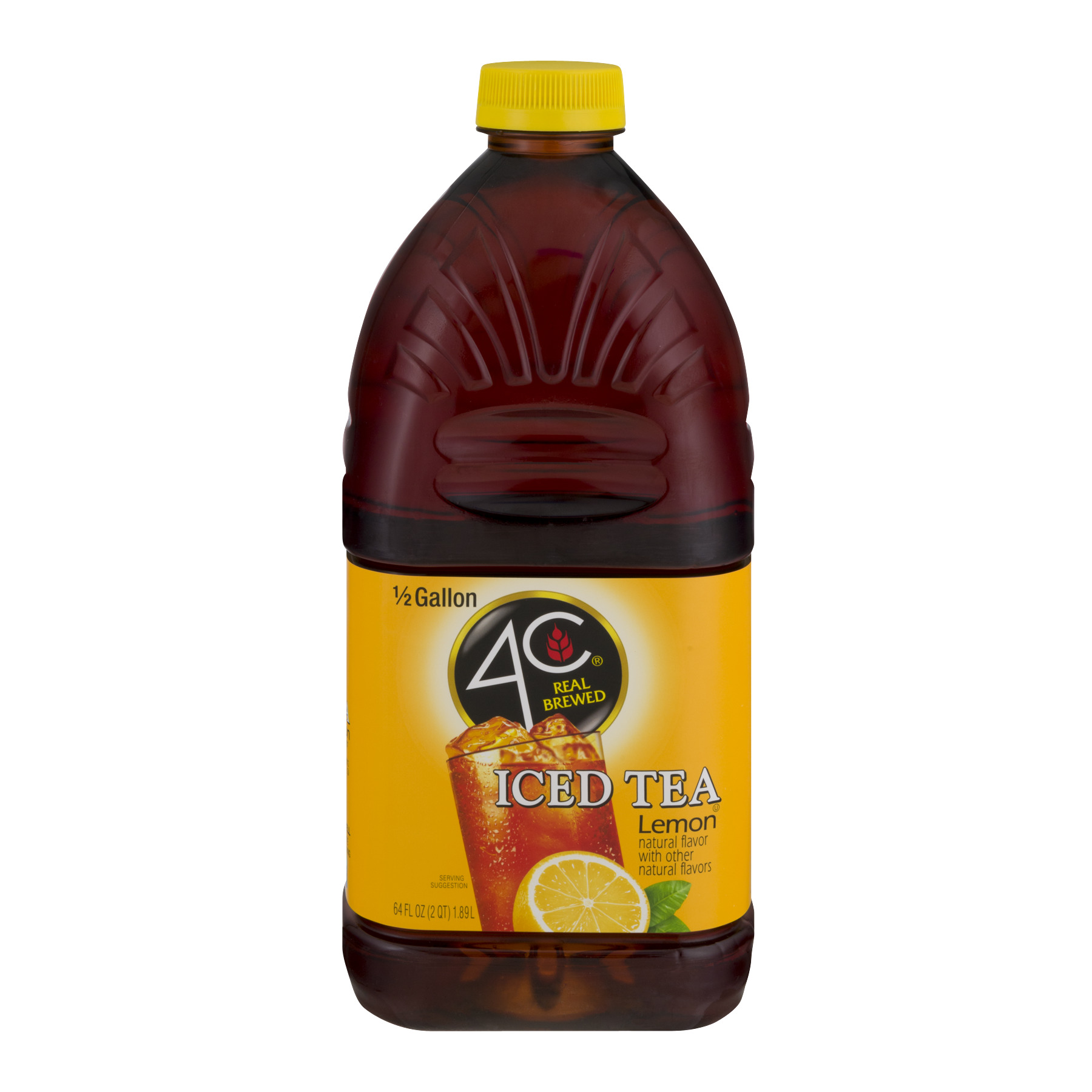 4C® Lemon Iced Tea 64 fl. oz. Bottle