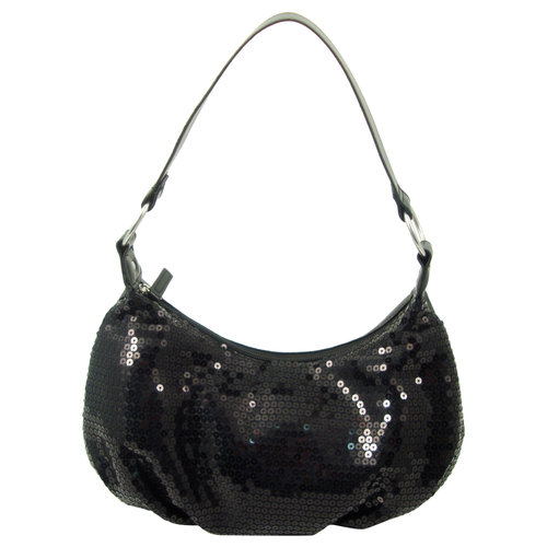 Glitz Hobo Bag, Black