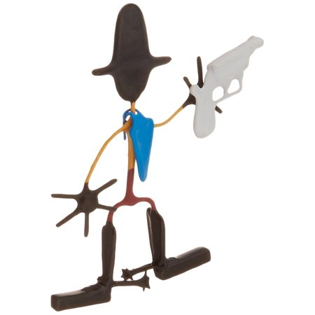 - Toys Wild West Benders Hop Along, Each Wild West Bender includes with accessory and tin box for storage and display By Hog Wild Ship from US