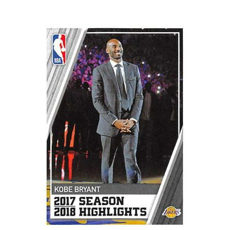 2018-19 Panini NBA Stickers #3 Kobe Bryant Los Angeles Lakers Basketball Sticker