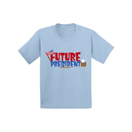 Awkward Styles Future President Infant Shirt Cute Birthday Gifts Kids President Shirts Future Job Funny President Tshirts for Boys Funny President Tshirts for Girls Kid President Themed Party](Girl Party Themes)