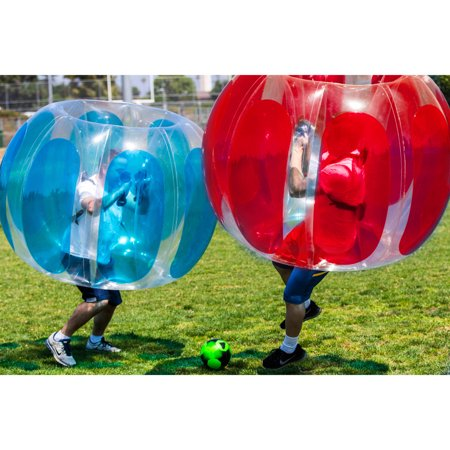 Inflatable Soccer (Sportspower 2pk Adult's Inflatable Bubble)
