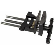 """9""""Jaw Cap Heavy-Duty Woodworkers Bench Vise"""