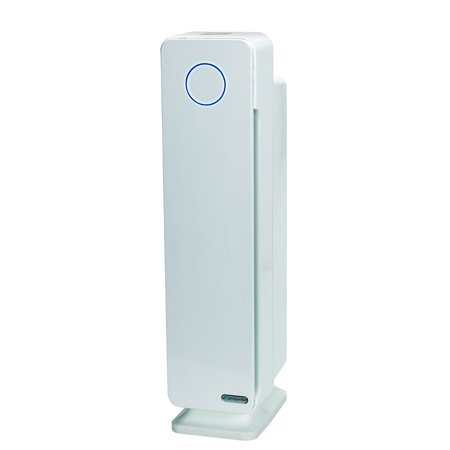 GermGuardian Elite 4-in-1 True HEPA Air Purifier with UV Sanitizer and Odor Reduction 28 in. Digital Tower