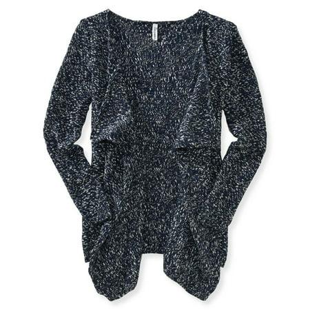Aeropostale Juniors Boyfriend Knit Cardigan Sweater