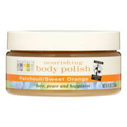Aura Cacia Nourishing Body Polish, Patchouli & Sweet Orange, 8 Oz