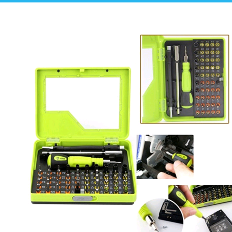 53 In 1 Multitool Professional Precision Torx Screwdriver Set Tweezer Cell Phone Pc Repair Tool Bit Set With Box Hand