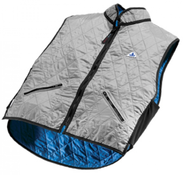 HYPERKEWL Deluxe Cooling Vest Silver WSM  6530F silver WSM