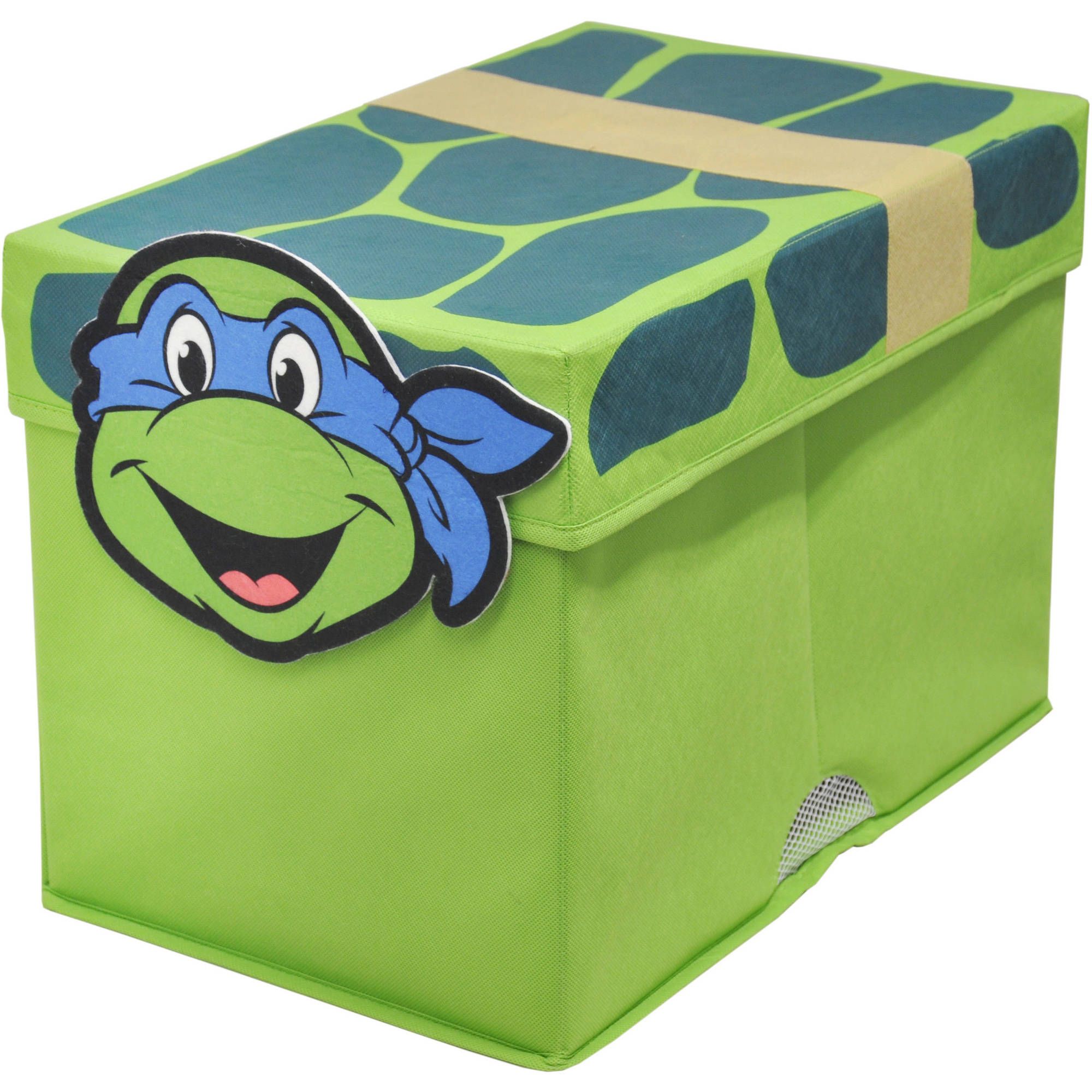 Nickelodeon Ninja Turtles Figural Toy Box