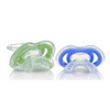 Nuby Gumeez Teether 2-Pack, Colors May Vary