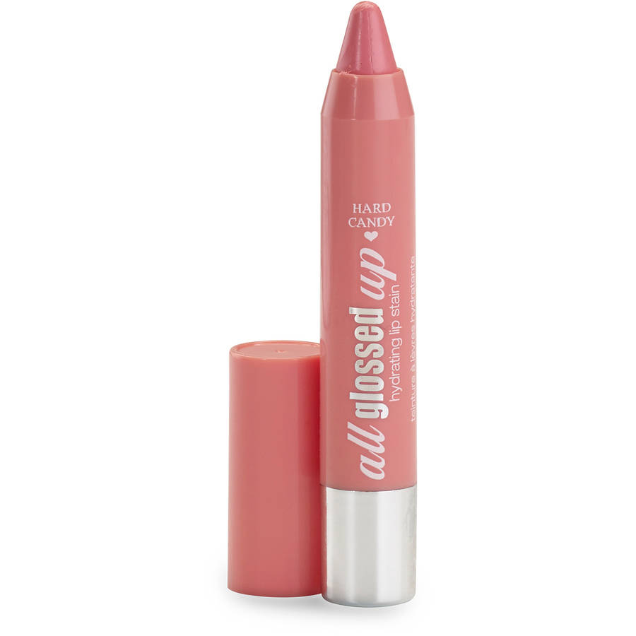Generic Hard Candy All Glossed Up Hydrating Lip Stain, Tickled Pink, 0.8 oz