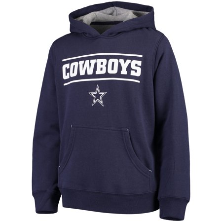 Dallas Cowboys Mens Jackets - Youth Navy Dallas Cowboys Hal Pullover Hoodie
