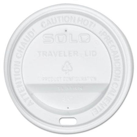 Solo Cup Company Oftl310007 Traveler Drink Thru Lid  44  White