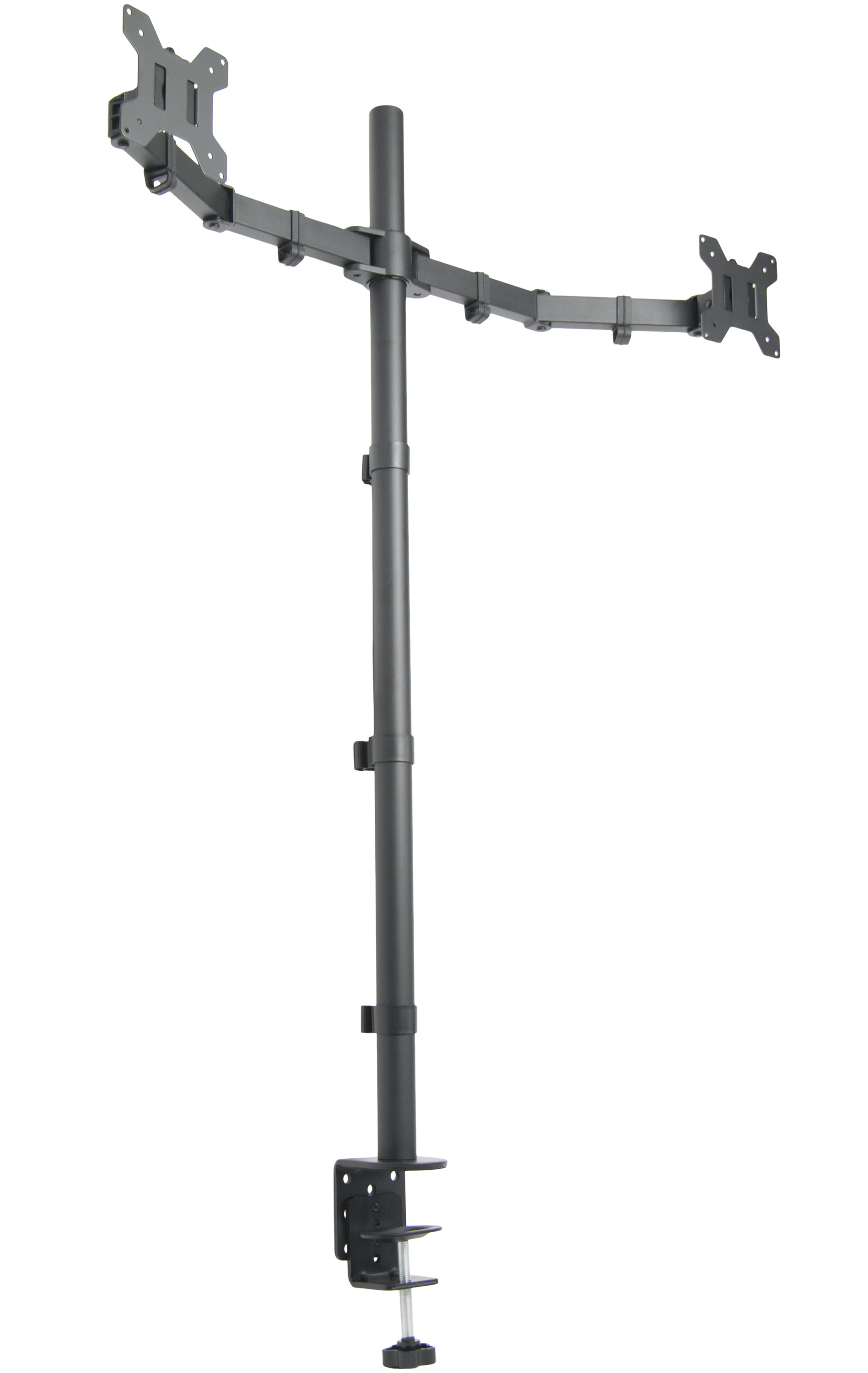 VIVO Dual Monitor Desk Mount Extra Tall Fully Adjustable Stand for