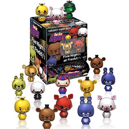 Fnaf Pint Size Heroes Mini Figures Set Of 24