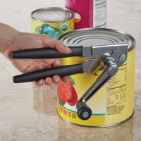 Swing A Way Extra Easy Stainless Steel Can Opener, Black Handle