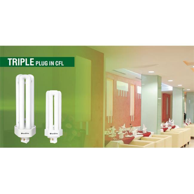 Overdrive 26W Super Mini Spiral T2 CFL-2700K Soft White, Pack Of 50