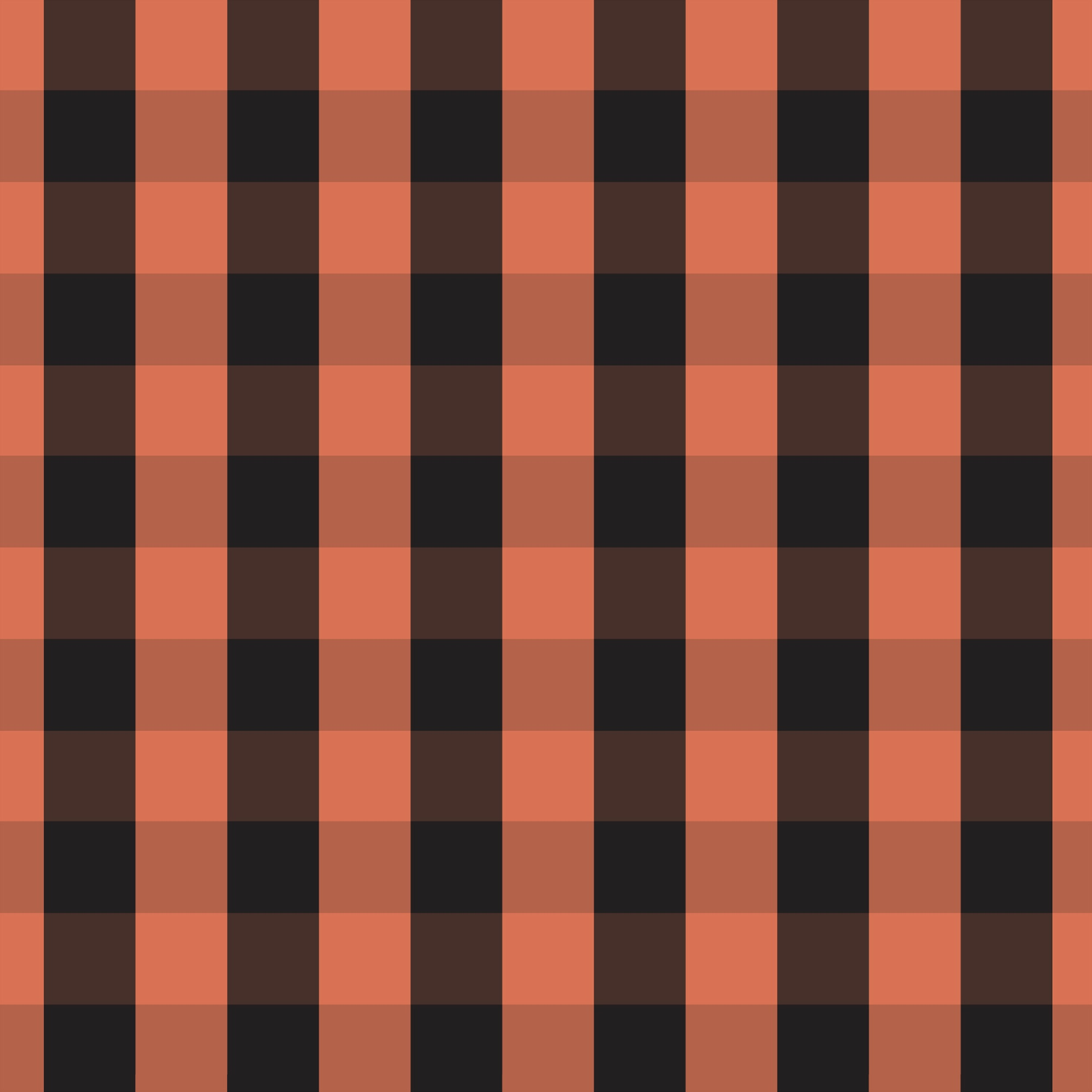 DAVID TEXTILES GINGHAM ORANGE COTTON FABRIC BY THE YARD, 44 INCHES WIDE