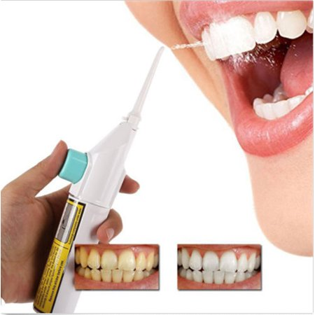 Portable Power Floss Dental Water Jet Cords Tooth Pick Braces No