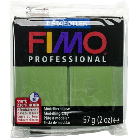 - Fimo Professional Soft Polymer Clay 2oz-Leaf Green