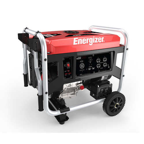 ENERGIZER 7,250 Watt CARB Portable Gasoline Generator with Manual Recoil Start