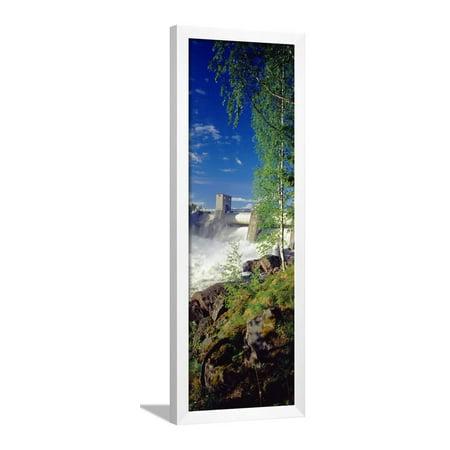 - Hydroelectric Dam, Imatra, South Karelia, Finland Framed Print Wall Art