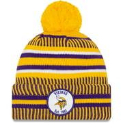 Minnesota Vikings New Era 2019 NFL Sideline Home Reverse Sport Knit Hat - Gold/Purple - OSFA
