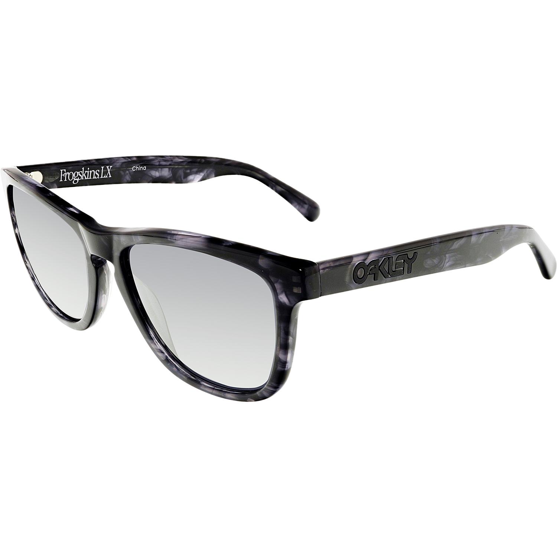 23f9c77f89 ... france oakley womens mirrored frogskins oo2043 08 black square  sunglasses 049e3 3e891