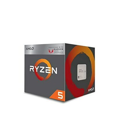 AMD RYZEN 5 2400G Quad-Core 3.6 GHz Socket AM4 65W Desktop Processor
