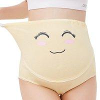 Adjustable Pregnant Women Funny Cotton High Waist Care Abdomen Cartoon Maternity Panties Shorts