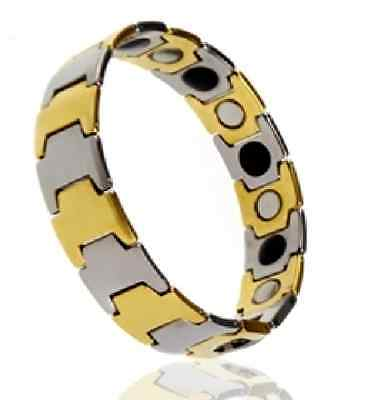HEALING PAIN REDUCE STRESS IMPROVE SLEEP MAGNETIC Tungsten Bracelet EJCN-002B