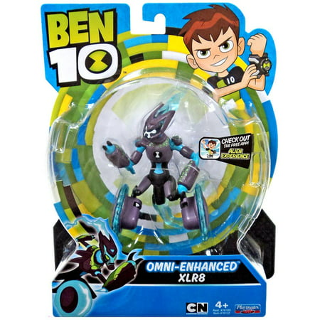Ben 10 Omni-Enhanced XLR8 Basic Figure Ben 10 Toys Omnitrix