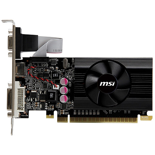 MSI Technologies GeForce GT 610 2GB DDR3 PCI Express 2.0 Graphics Card