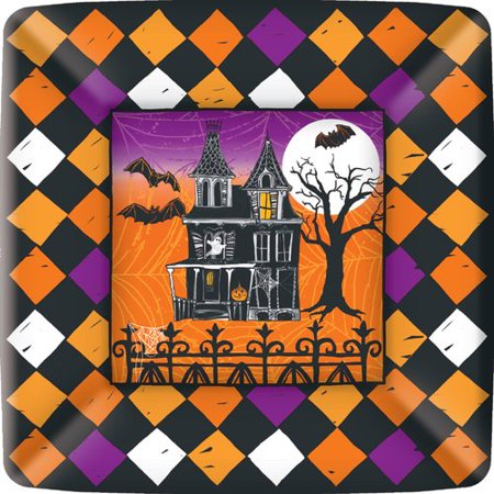 Boston International Haunted Halloween 7'' Plate Pack (Set of 3) - 18+ Halloween Parties Boston