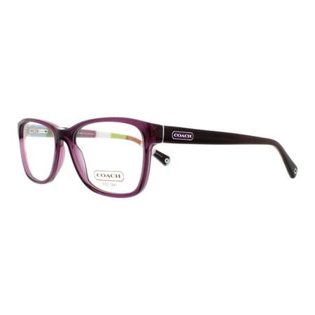 47c4963974f96 COACH Eyeglasses HC 6013 5043 Purple 52MM - Walmart.com