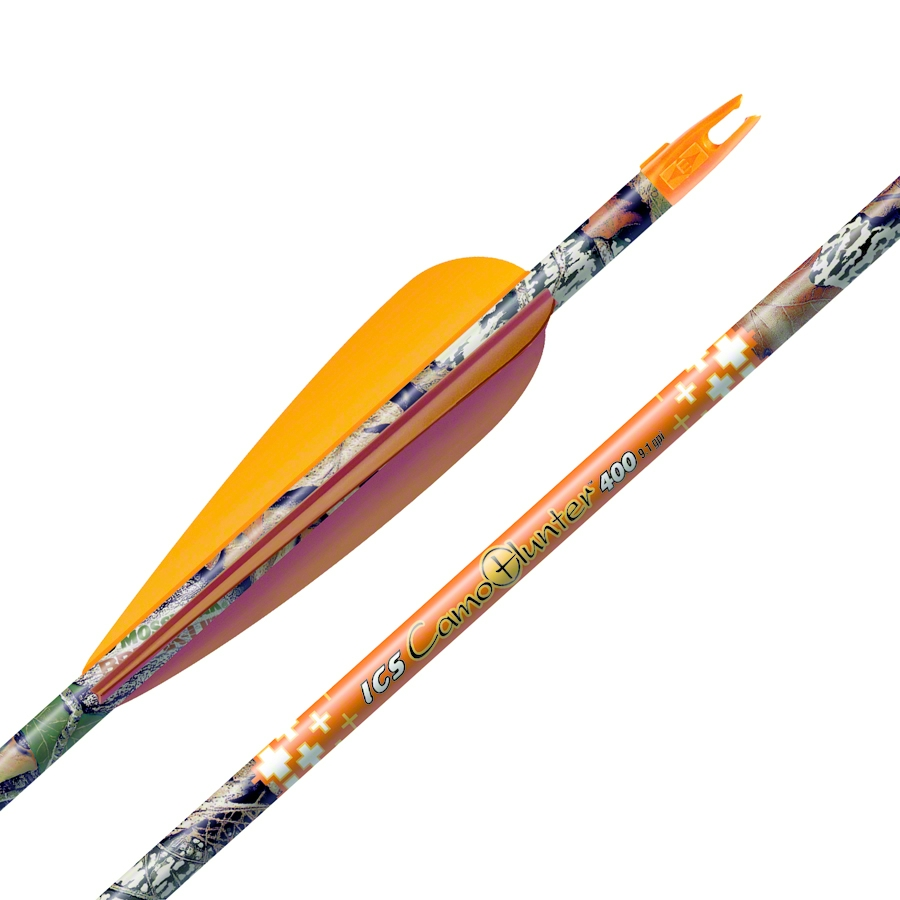 "Easton Xx75 Camo Hunter Arrows 2216 4"" Vanes W/Super Nock..."
