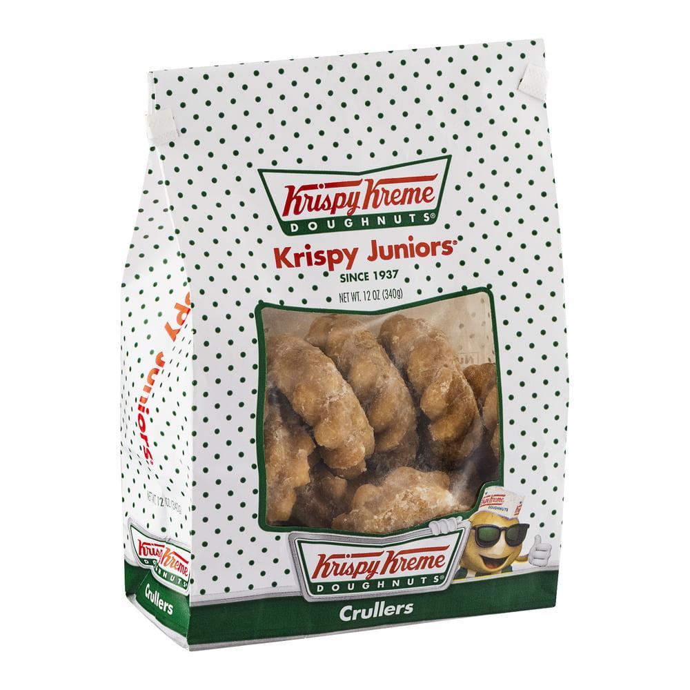 Krispy Kreme Doughnuts Krispy Juniors Crullers, 13 oz - Walmart.com