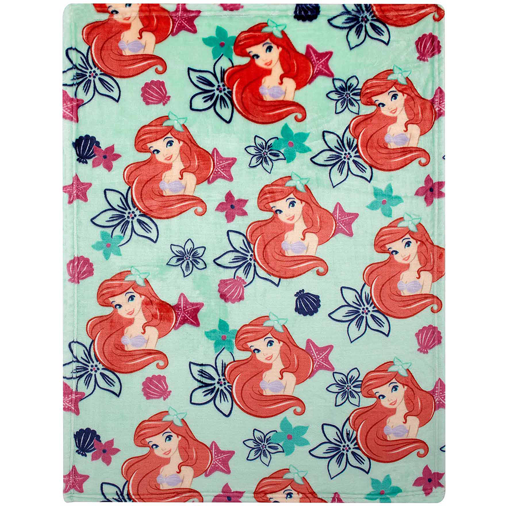 Disney Ariel Plush Printed Blanket