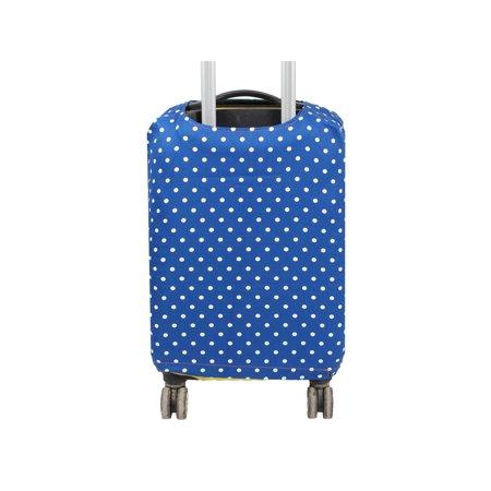 SAFEBET bagages autorisés Motif Dots tissu couvercle anti-rayures Bleu foncé - image 2 de 7