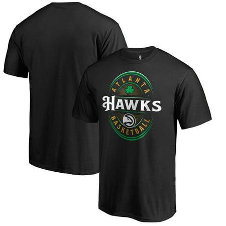 Atlanta Hawks Fanatics Branded Forever Lucky T-Shirt - Black ()