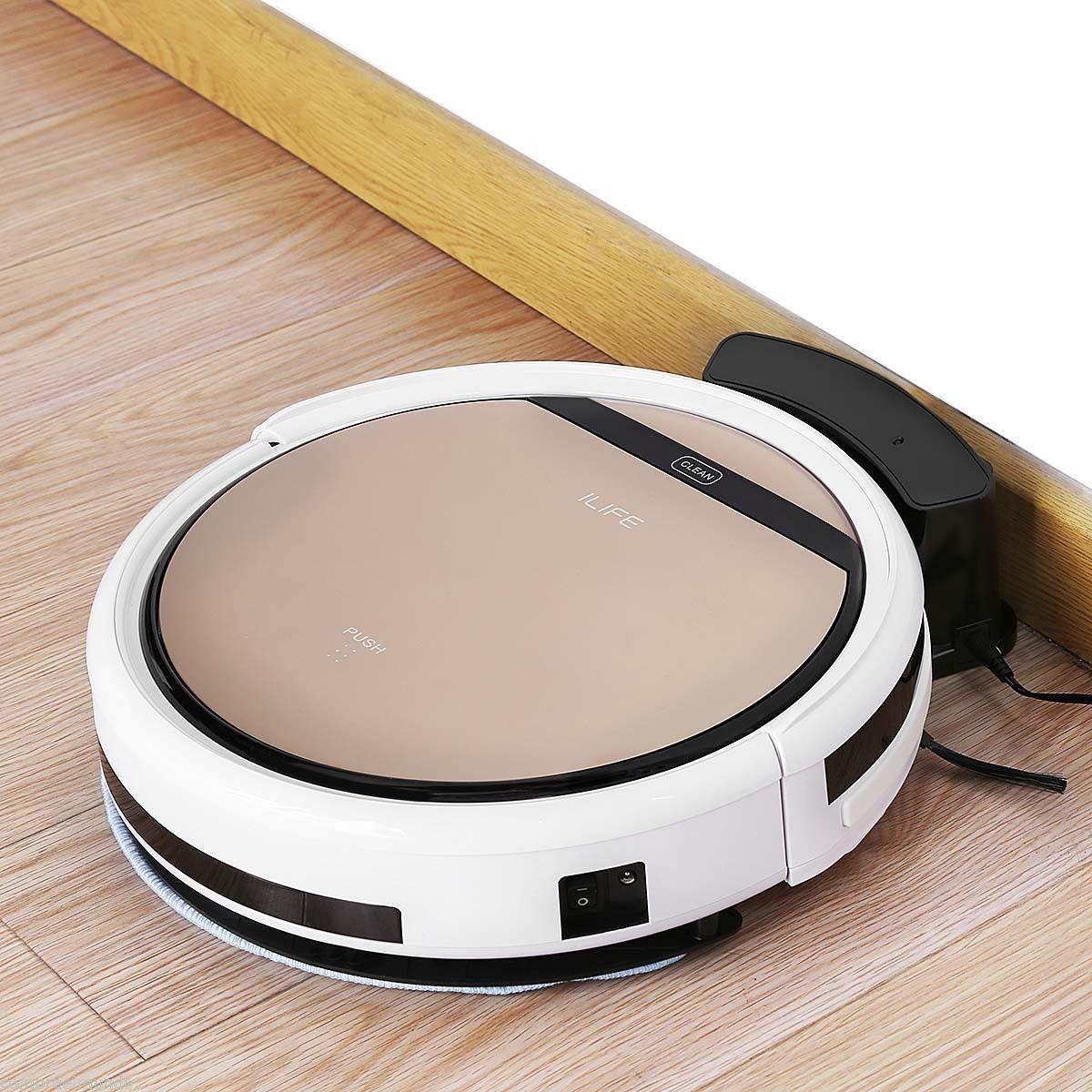 New Rose Gold Professioanl V5s Smart Robot Vacuum Floor S...