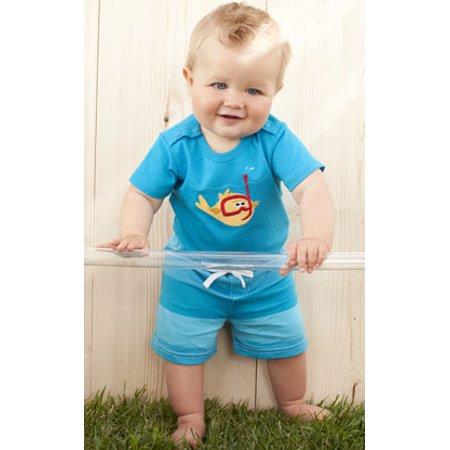 062e8bd0f Le Top - Le Top Boys Little Ray Scuba Diver Shorts and Bodysuit 6 months -  Walmart.com
