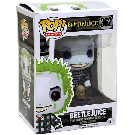 Funko POP! Movies Beetlejuice Vinyl Figure [Mystery Version] - Beetlejuice Head Shrunken