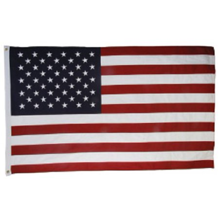 Usa American 600 Denier Embroidered 4 X 6 Foot Flag Polyester Flag 4X6 New