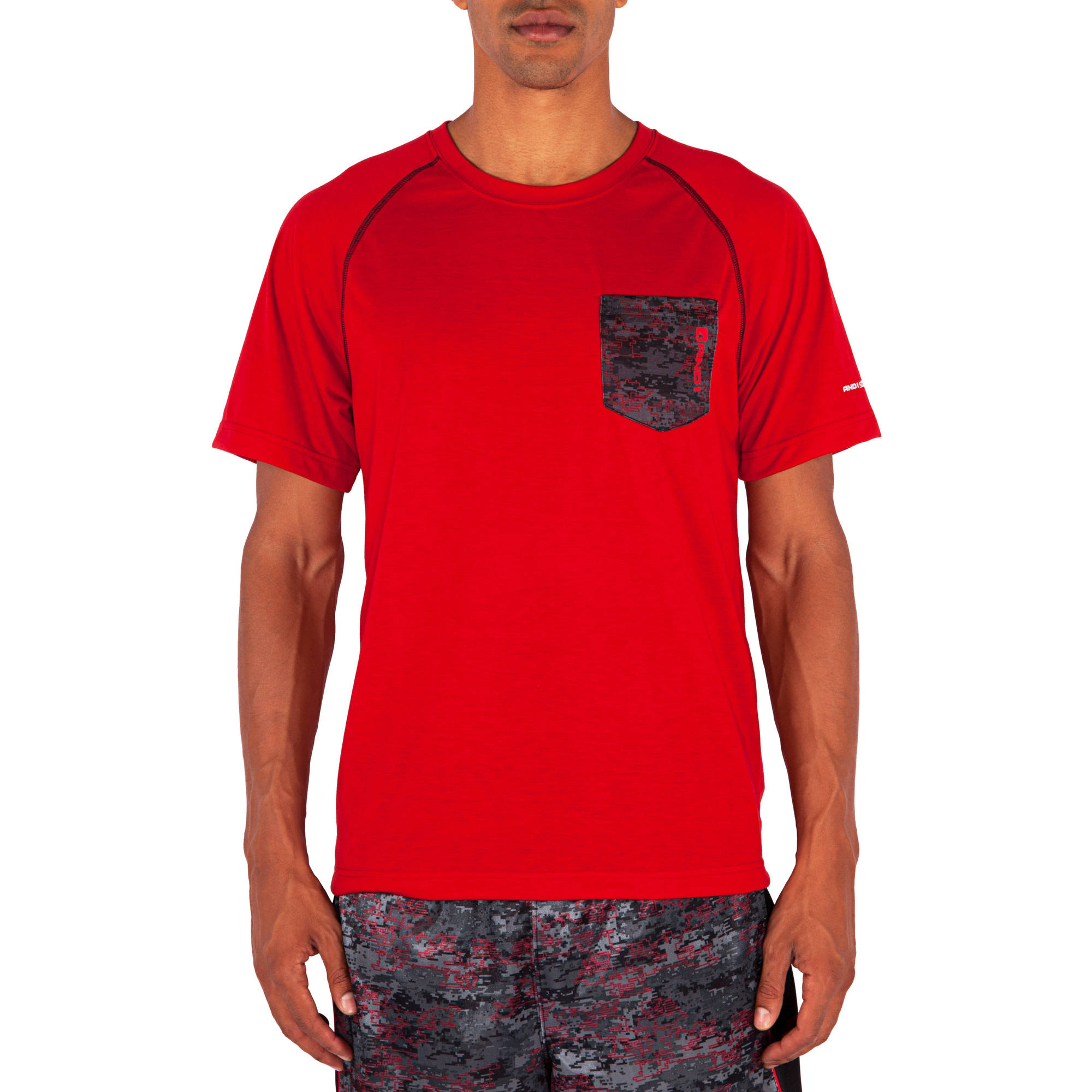 And1 Men's In The Pocket Performance Top
