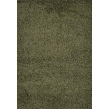 Homedora HD-SHAGGY-GREEN 5 x 7 ft. Discount World Shaggy Collection Green Area Rug - image 1 of 1
