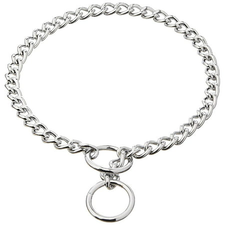 Products DCP553020 20-Inch Titan Heavy Chain Dog Training Choke/Collar with 3mm Link, Chrome, Titan dog training choke/collar is excellent for gentle control By Coastal Pet
